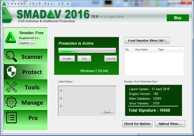 Free Download Smadav V.10.6 Pro Terbaru 2016