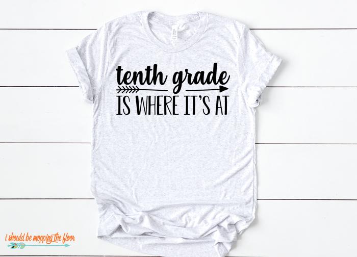 10th Grade Tshirt