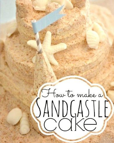 Sand Castle Cake Recipe