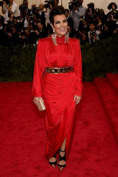 Kris Jenner in the eyes of Balmain Jenner