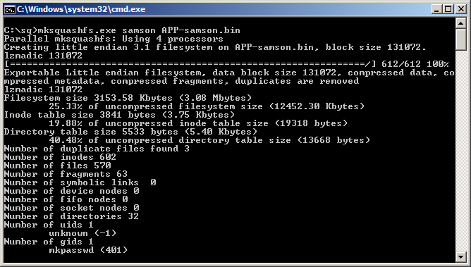 Download Unpack Repack SquashFS Windows Extract Firmware GX6622