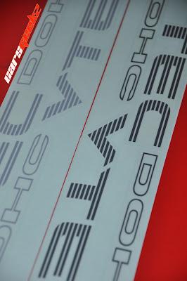 Honda Civic EG/EK   DOHC VTEC sticker 44