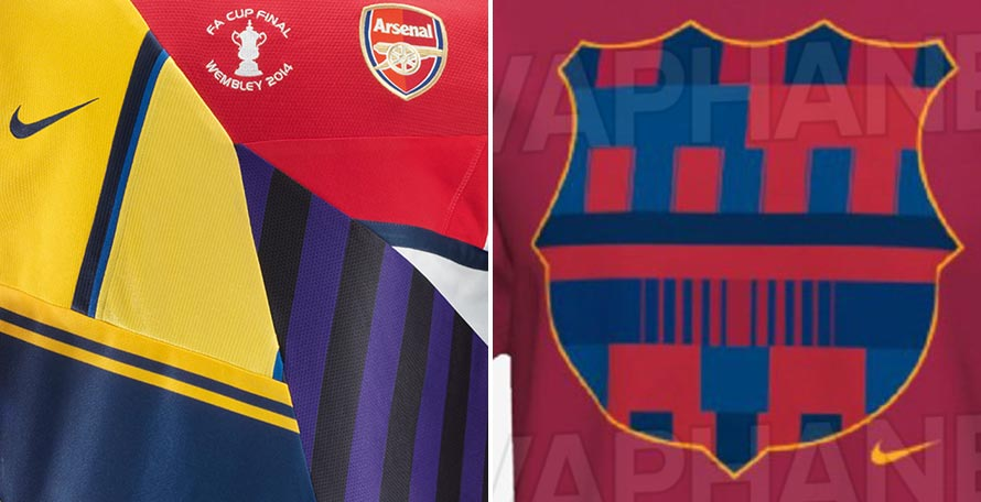 best service 75cc2 87949 Nike to Release Limited-Edition Barcelona Mashup Jersey to ...
