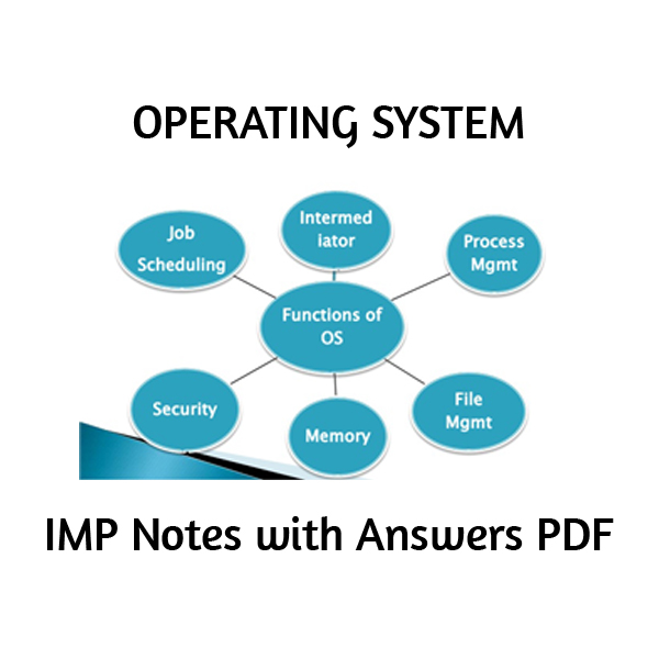 System pdf operating notes
