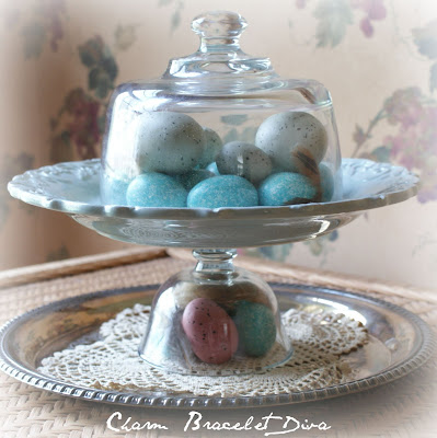 DIY Vintage Easter Egg Cloche