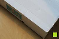 """Verpackung: ZOLLNER hochwertiges Strandlaken / Strandtuch / Badetuch 100x200 cm marine-weiß, in weiteren Farben erhältlich, direkt vom Hotelwäschehersteller, Serie """"Marina"""""""