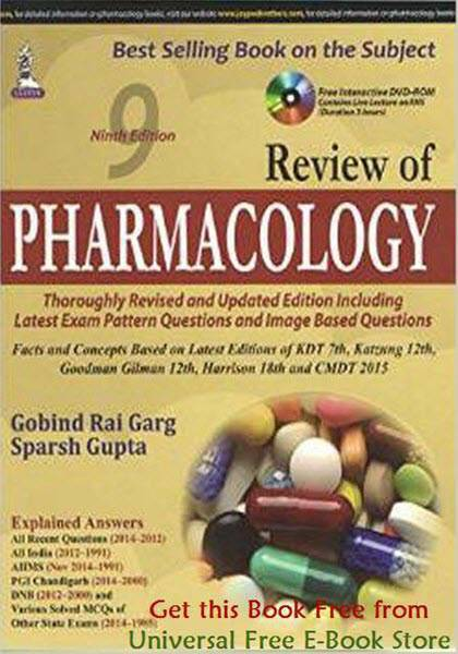 Pdf medical ebooks blog review of pharmacology review of pharmacology fandeluxe Gallery