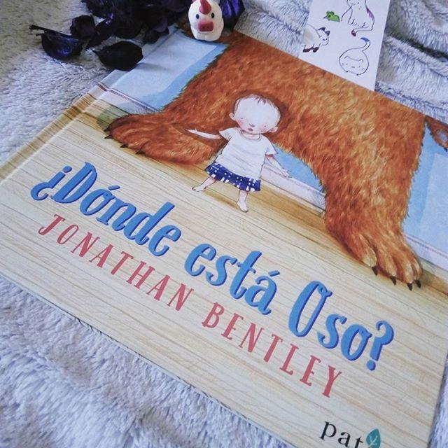 Portada del libro de Patio editorial ¿Dónde está oso?