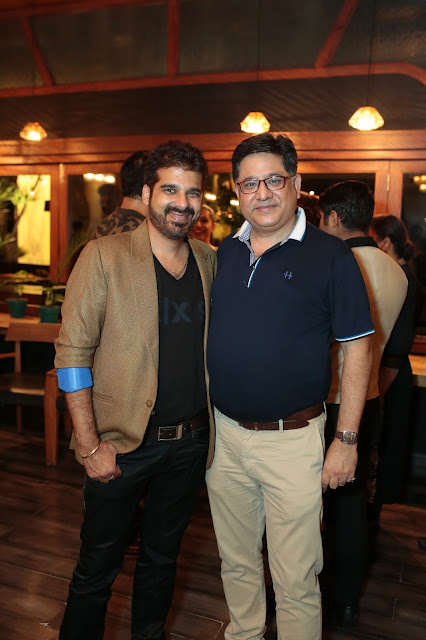 Arvind Munjaal with Munish Verma