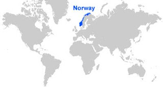 image: Norway Map Location