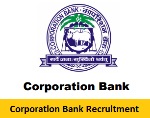 Corporation Bank Recruitment