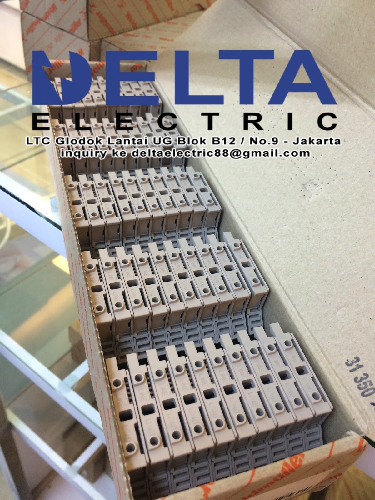 Delta Electric Terminal Block Weidmuller By Relays Brand Lain Yg Kami Supply