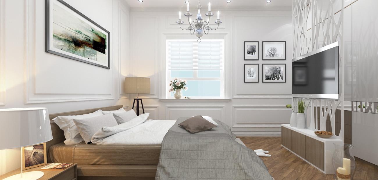 Nội thất bàn giao căn hộ chung cư Eco City