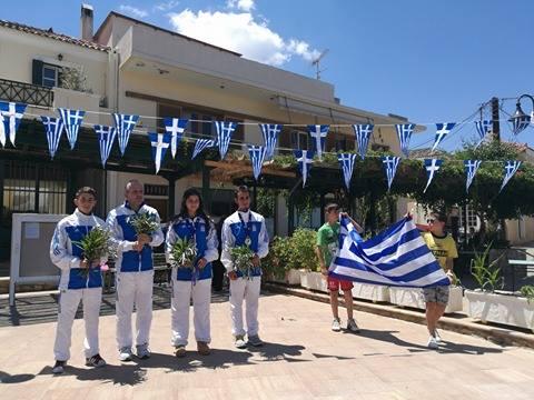 Τιμητική υποδοχή στο Κρανίδι για τους αθλητές του Choy Lee Fut  που διέπρεψαν στο 4ο Ευρωπαϊκό πρωτάθλημα στην Τιφλίδα της Γεωργίας