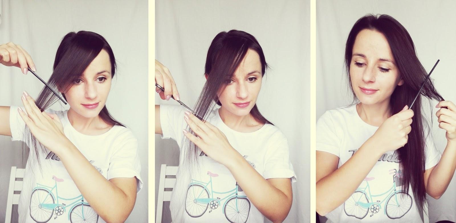 Jak Obciąć Sobie Grzywkę Prosty Sposób Krok Po Kroku Hair By Jul