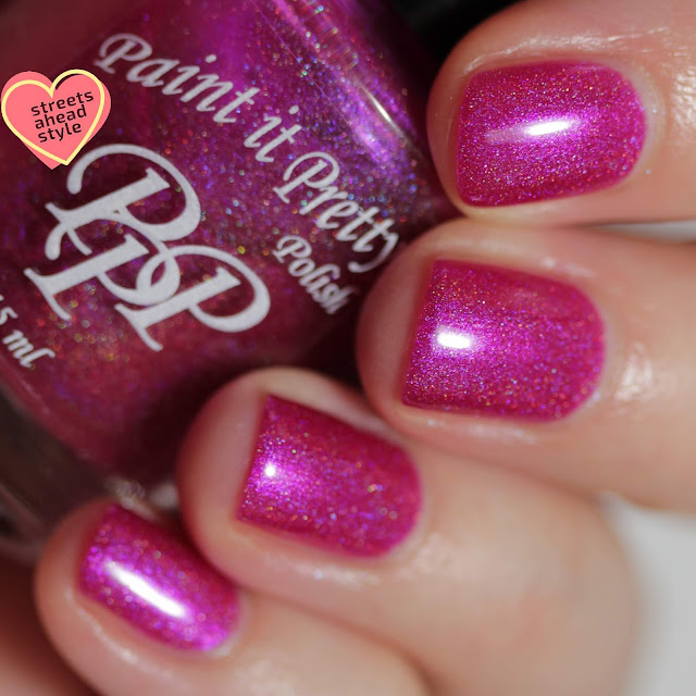 Paint It Pretty Polish More Love Less Paperwork swatch by Streets Ahead Style