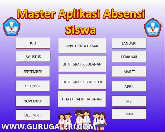 Master Aplikasi Absen Siswa
