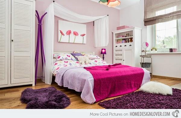 Hogares frescos 15 ideas para vestir tu cama en - Camas para chicas ...