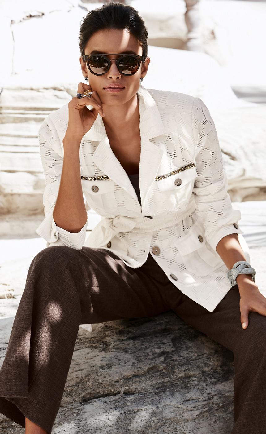 MADELEINE White Jacket