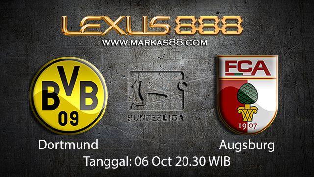 Prediksi Bola Jitu Dortmund vs Augsburg 6 Oktober 2018 ( German Bundesliga )