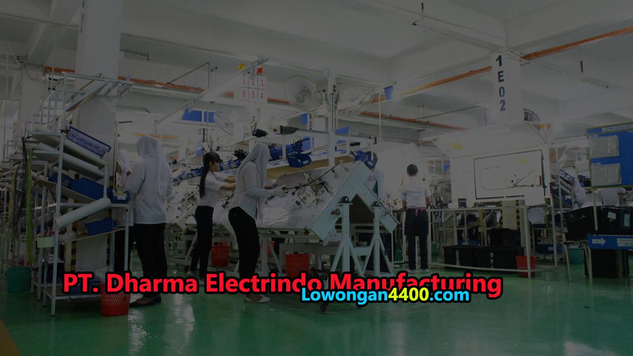 Lowongan Kerja PT. Dharma Electrindo Manufacturing