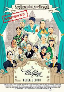hehe semangat hari ini sebab banyak film indonesia yang rilis sanggup di unduh sobat sahabat  Download Film The Wedding Bebek Betutu 2015 Tersedia