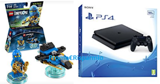 Logo Concorso ''Family Event 2017'' : vinci 100 kit Lego Ninjago con Sony PS4