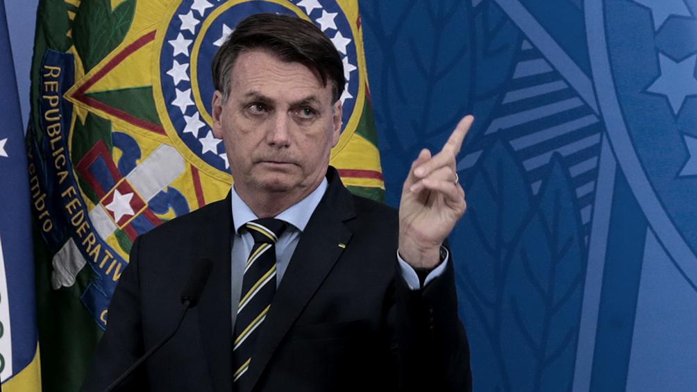 Coronavirus en Brasil: Bolsonaro le echa la culpa a gobernadores e intendentes por las muertes y la crisis económica