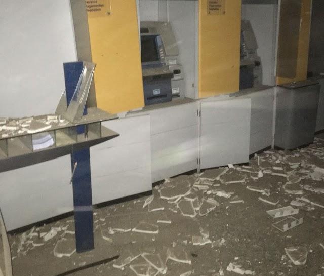 Quadrilha explode agência bancária e assusta moradores no CE; 'achei que minha casa fosse desabar'