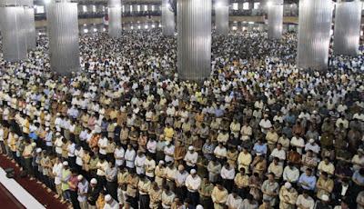 Kristenisasi terpesat di dunia ada di Indonesia