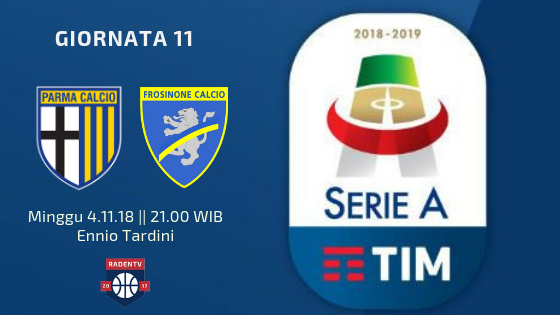 Streaming Parma vs Frosinone