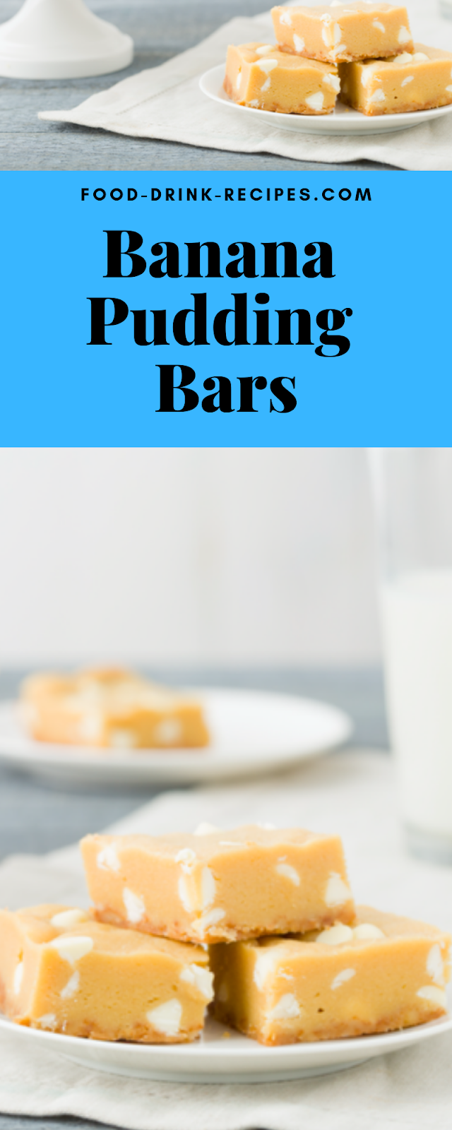 Banana Pudding Bars - food-drink-recipes.com
