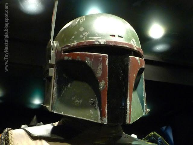 "Detalle casco Boba Fett  ""Episodio V - The Empire Strikes Back""  (STAR WARS - The Exhibition)"