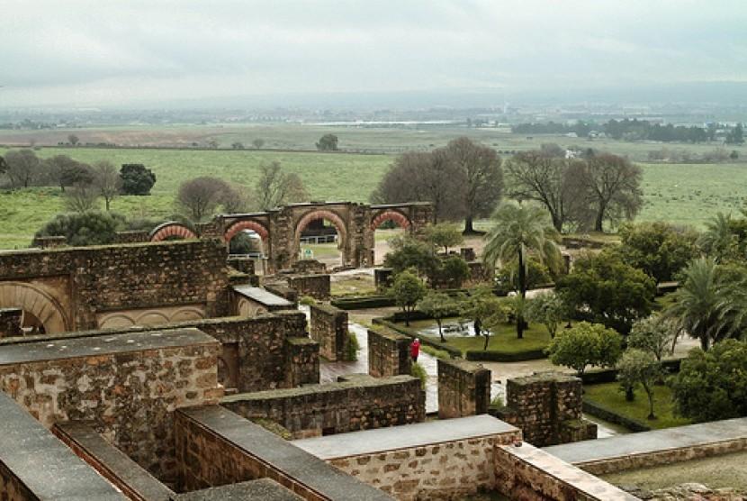 Reruntuhan Istana Az-Zahra di Cordoba, Spanyol.