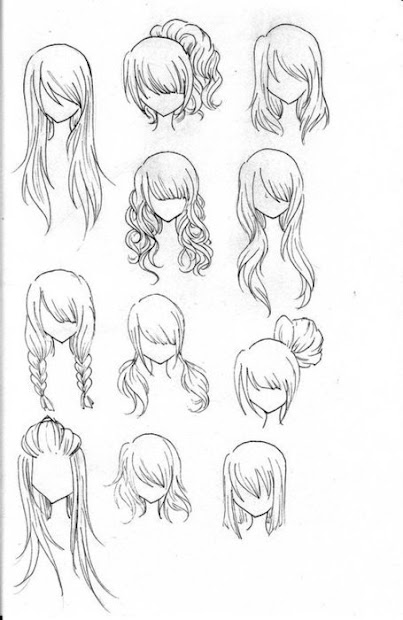 girl anime hairstyles latest