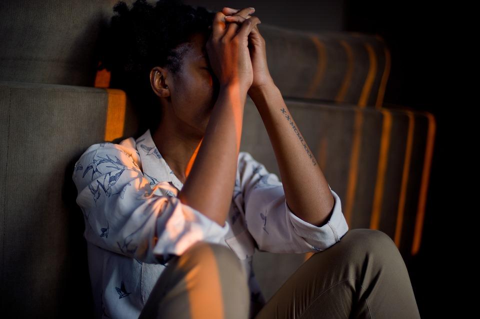 stressed-black- woman
