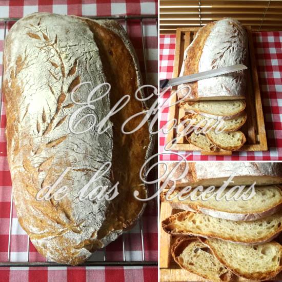 Hogaza de pan de cebolla