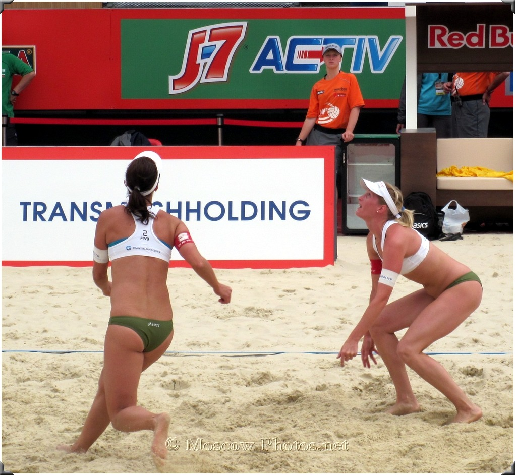 Beach Volley In Moscow