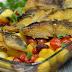 Bacalhau no forno com batatinhas #receitadobem
