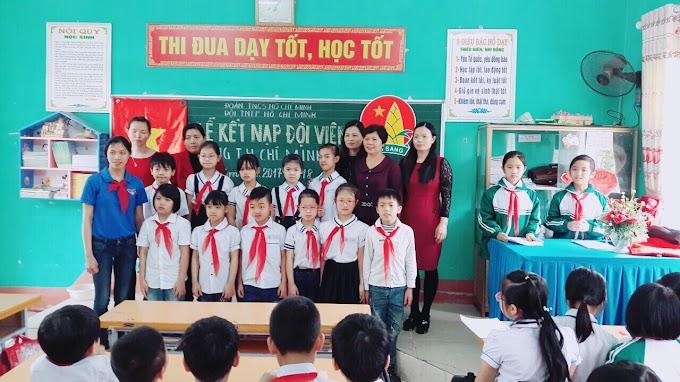 TH Chí Minh: Tổ chức Lễ kết nạp Đội viên mới