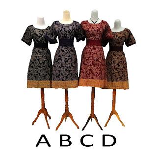 Dress Batik Wanita Rumah Batik Jogja