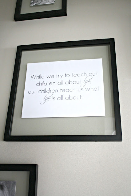 While we try to teach our children quote