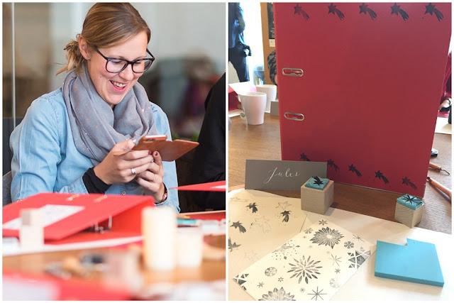 Blogger Event DIY viking Koeln Ehrenfeld Colabor Stempeln mit karamelo und Stempelzeit Jules kleines Freudenhaus