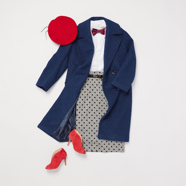 Trunk Club outfit curated by Sandy Powell in celebration of Disney's Mary Poppins Returns