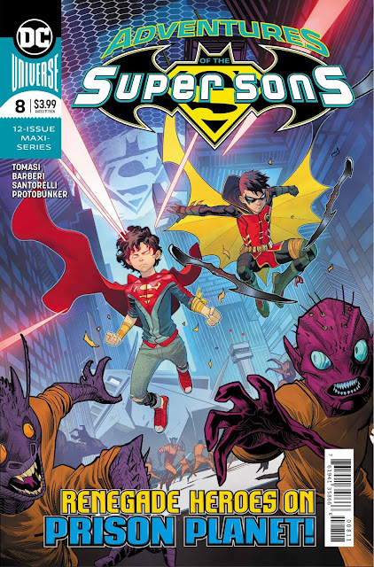 "Comic: Preview de ""Adventures od the Super Sons"" núm. 8 de Peter J. Tomasi - DC Comics"