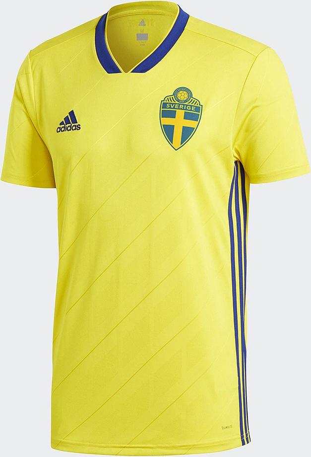 aa6dae9375357 Adidas lança a nova camisa titular da Suécia - Show de Camisas