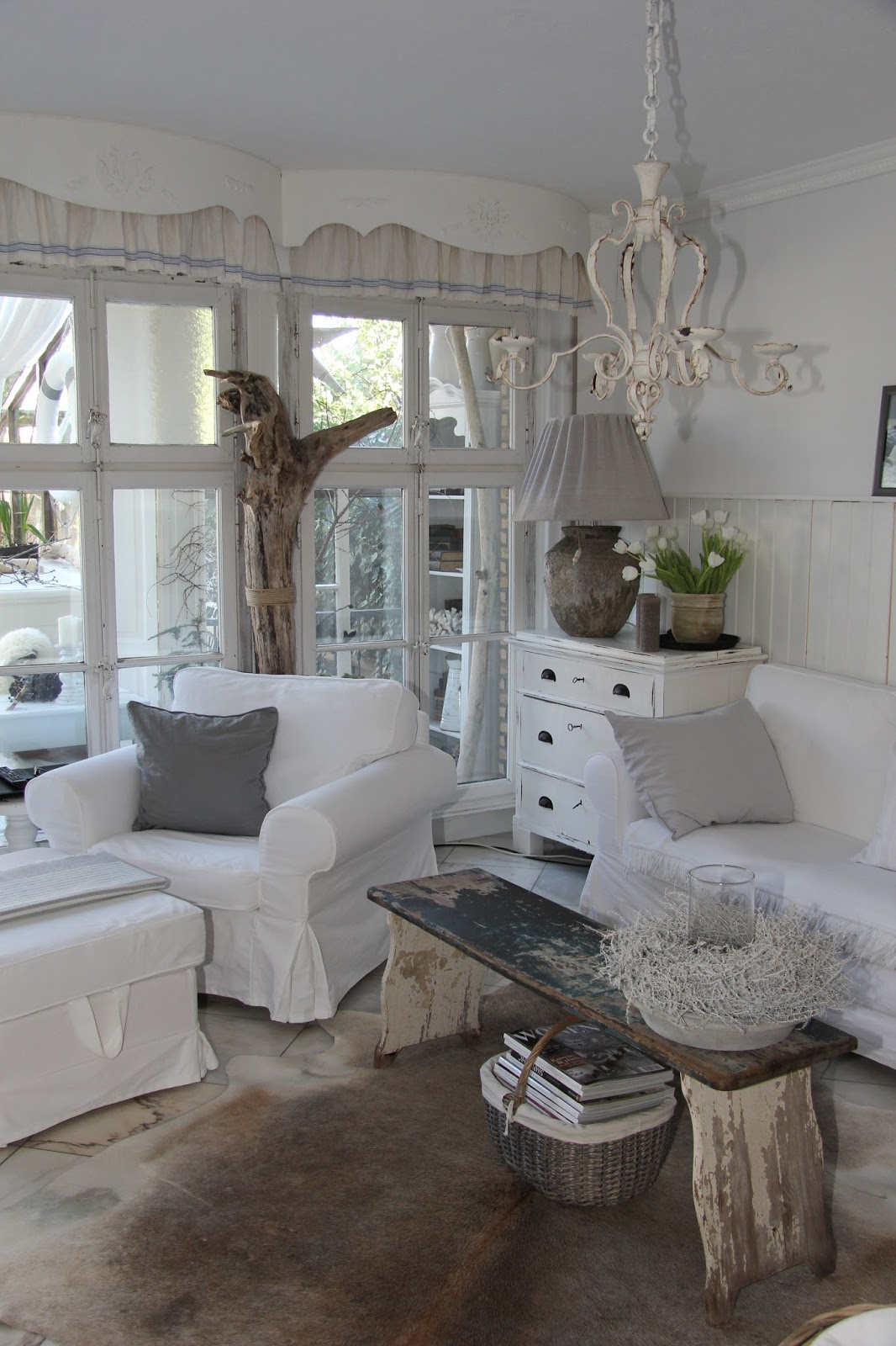 shabby and charme shabby chic per una splendida abitazione nella campagna tedesca. Black Bedroom Furniture Sets. Home Design Ideas