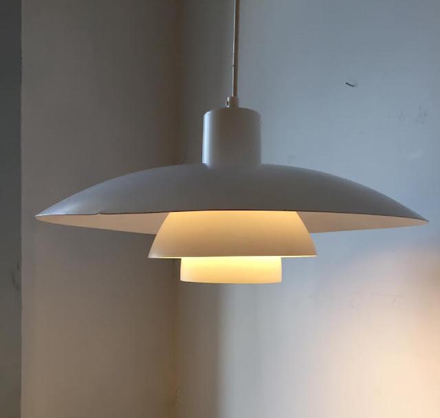 PH 4/3, Poul Henningsen, candeeiro, lamp, branco, dinamarquês, danish, a Porta Verde