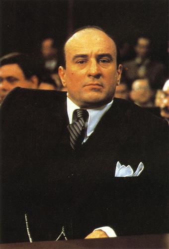 Robert de Niro como Al Capone em Os Intocáveis
