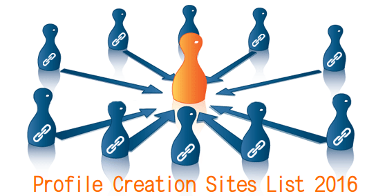 Free Backlinks Sites List | Profile Creation Sites List 2016